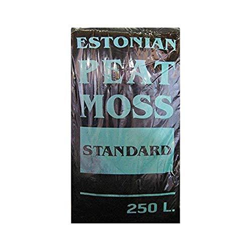 Geosism & Nature Tourbe (Blonde) Acide de sphaigne (Mousse de Tourbe estonienne) (c.ca 40 kg - 250 lt)