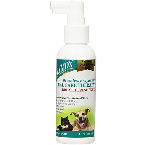 Zymox Oratene Brushless Oral Care Breath Freshener, 4 ounce Kansas