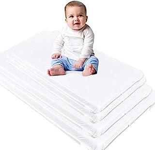 Custom Size Baby Crib Mattress Bed Pad: Firm Foam Bedding : Waterproof Vinyl Top