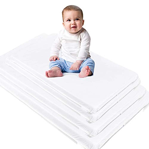 Generic Custom Size Baby Crib Mattress Bed Pad Waterproof Vinyl Top Firm Foam Bedding