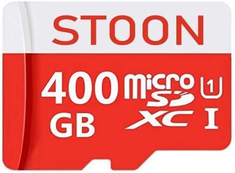 400GB High Speed 400GB Micro SD Card Class 10 Micro SD SDXC Card Flash Memory Card with Adapter