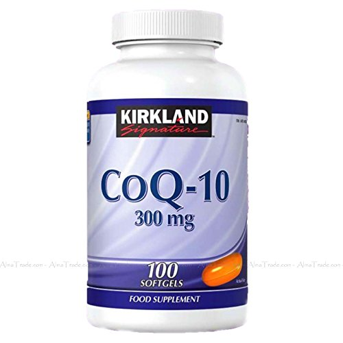 Kirkland Signature CoQ-10 300mg, 100 Capsules (3 Months Supply)