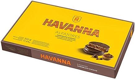HAVANNA Alfajores de Chocoloate con Dulce de Leche x 6 - 330 gr - (2