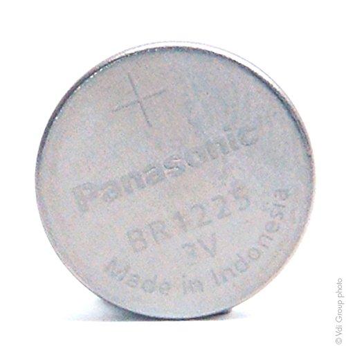 Panasonic - Knopfzelle Lithium BR1225 PANASONIC 3V 48mAh - Batterie(n)