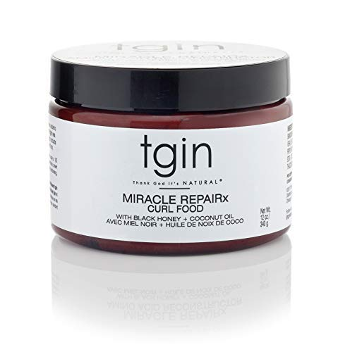 Price comparison product image tgin Miracle RepaiRx Curl Food Daily Moisturizer For Natural Hair - Dry Hair - Curly Hair - 12 Oz