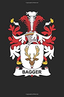 Bagger: Bagger Coat of Arms and Family Crest Notebook Journal (6 x 9 - 100 pages)