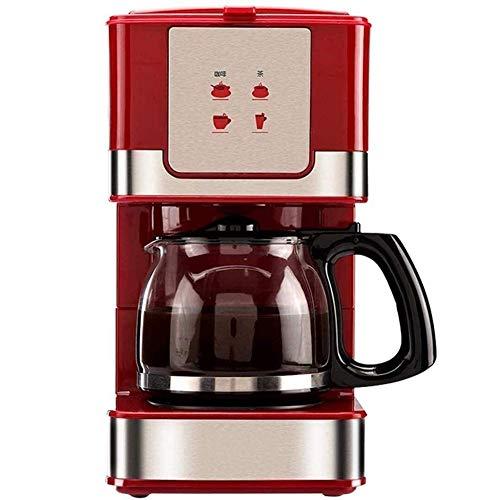 La cafetera (independiente, totalmente automático, máquina de café, capuchino, café, espresso, chocolate caliente, agua caliente, latte, té) con 600 ml de cristal desmontable Filtro Grinder WTZ012