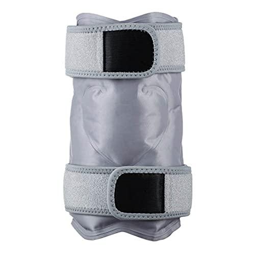 Schmerzlindernder Eisbeutel Mit Gurt Wiederverwendbarer Kälte- Und Wärmetherapie-Gel-Eisbeutel Für Verletzungen, Mikrowellen-Wärmekissen Für Rückenschulter, Nacken, Taille, Waden Und Hüfte