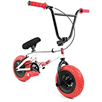 Fatboy Mini BMX Bicycle Freestyle Bike Fat Tires Boy White Assault by FatBoy Mini BMX