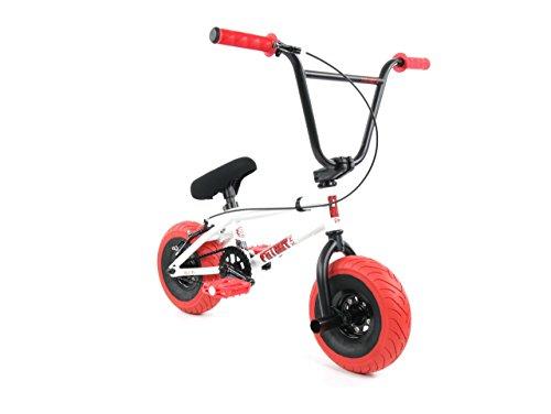Fatboy Mini BMX Bicycle Freestyle Bike Fat Tires Boy White Assault by FatBoy Mini BMX