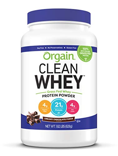 Orgain Grass Fed Clean Whey Protein…