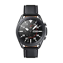 Galaxy Watch3 encases game-changing tech in a classic watch body. Crafted from stainless-steel and fine leather, this timeless style goes with everything. You're always in tune with the world when you're wearing Galaxy Watch3. Receive texts, WhatsApp...