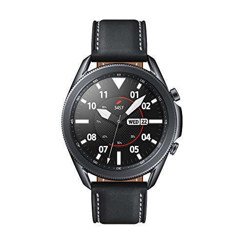 Samsung Galaxy Watch 3 Stainless Steel 45 mm Bluetooth Smart Watch - Mystic Black (UK Version)