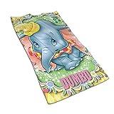 QHMY Asciugamani Beauty Dumbo Asciugamano Morbido e Assorbente Ideale per l'uso Quotidiano 27,5 'X 17,5'