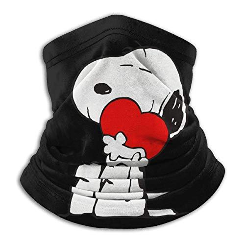 GanQuanXianYanCuiCuiZaoCanMianPiDian Snoopy Love Woodstock Sturmhauben Maske Magic Headband Print Schal 3D Headwear Männer Frauen