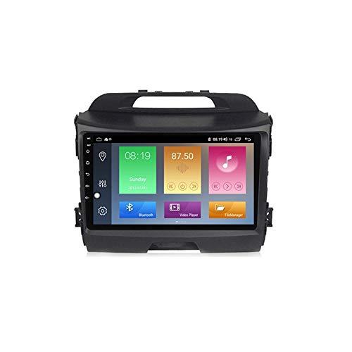 ADMLZQQ Autoradio 2 DIN Android per Kia Sportage 3 2010 2011-2016 - GPS Navigatore Satellitare Auto Supporto Colling Fan/Uscita AV Completa/Carplay Auto / 4G 5G WiFi,M300