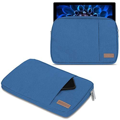 UC-Express Schutzhülle kompatibel für Acer Switch Alpha 12 Hülle Tasche Notebook Schwarz/Grau Cover Hülle, Farbe:Blau