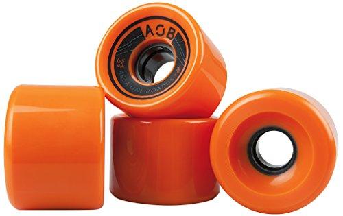 Area One Boards Longboard Rolle AOB Straight 65mm, 78a, orange