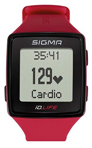 Sigma 24620 Reloj de Actividad, Rojo