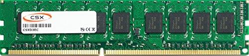 CSX CSXD3EC1600-2R8-8GB 8GB DDR3-1600MHz PC3-12800E 2Rx8 512Mx8 18Chip 240pin CL11 1.5V ECC Unbuffered DIMM Arbeitsspeicher