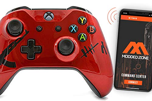 Smart Rapid Fire Custom Modded Controller for Xbox One S Mods FPS Games and More. Control and Simply Adjust Your mods via Your Phone!