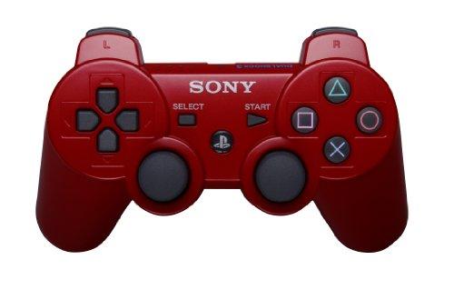 Sony - Mando DualShock 3, Color Rojo - [Importación USA] (PlayStation 3)
