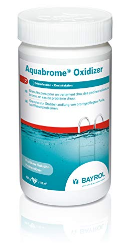 Bayrol Aquabrome Oxidizer Brom Booster, Weiß