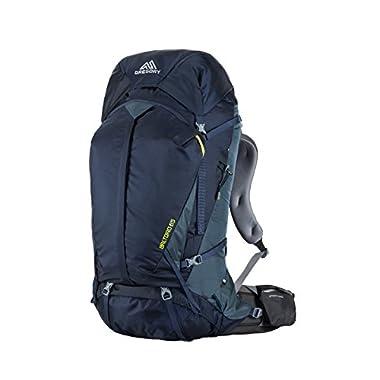 Gregory Mountain Products Baltoro 65 Liter Men's Backpack, Navy Blue, Medium