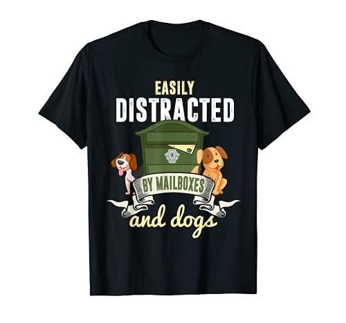 Mail-Carrier - Camisa para amantes de perros, regalo para amantes de perros Camiseta