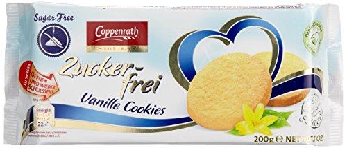 Coppenrath Vanille Cookies zuckerfrei, 7er Pack (7 x 200 g)