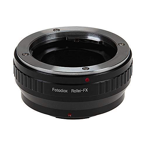 Fotodiox Lens Mount Adapter Compatible with Rolleiflex 35mm (SL35, QBM) SLR Lens on Fuji X-Mount Cameras