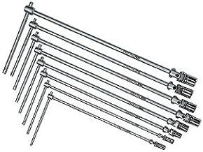 USAG 276 CE/SE8 - Serie di 8 chiavi a T snodate 276484