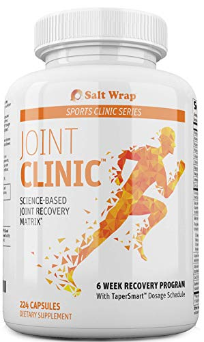 Joint Clinic - Collagen Synthesis and Connective Tissue Repair Supplement – 6 Week Recovery Program - Supports Tendon, Ligament and Cartilage Healing (224 Capsules)