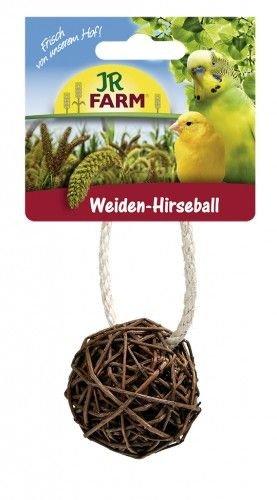 JR-Farm Bird Weiden-Hirseball, D = ca.7cm Größe 3 Stück
