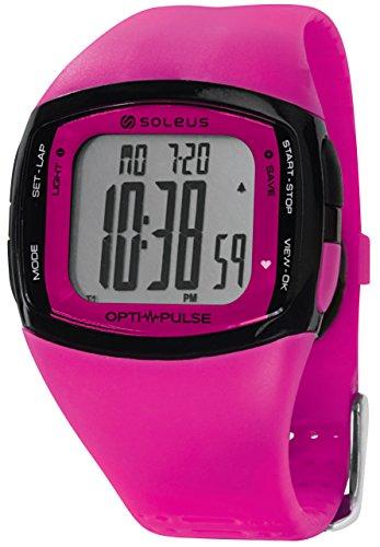 Soleus Rhythm - Reloj de pulsera deportivo con monitor de actividad física...
