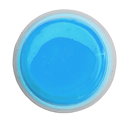 Cyalume LightShape Leuchtmarkierer ringförmig in Blau (100-er Pack) - Leuchtdauer 4h – selbstklebender Leuchtmarkierer mit 8cm Durchmesser – per Druck aktiviert – für Evakuierungen, Triage, Markierungen