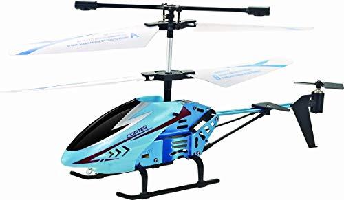 Motor & CO. - Elicottero Fast Copter - Elicottero Radiocomandato Giocattolo Infrarossi con Luci LED e Giroscopio a 6 Assi e Sistema di Stabilizzazione - Veicoli Giocattolo, Giochi per Bambini