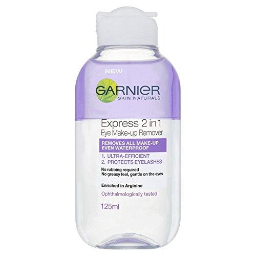 Garnier Skin Naturals 2in1 Eye Make Up Remover 125 ml, Suitable For...