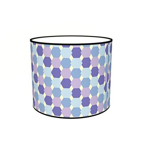 Abat-jours 7111301687463 Imprimé Filo Lampadaire, Tissus/PVC, Multicolore
