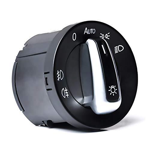 Golf 5 Lichtschalter, OTUAYAUTO Scheinwerferschalter Hauptlichtschalter