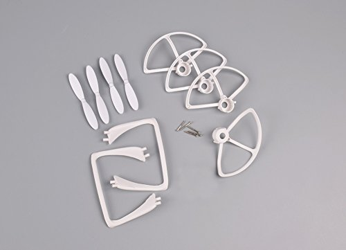 YouCute Spare Part Kit for DM007 SPY Rc Quadcopter Drone White Blade Landing Gear Protecting Frame