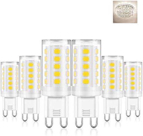 G9 LED Bulb 4000K Natural White Milk White Bi Pin Base 4W LED G9 Light Bulb for Crystal Chandeliers product image