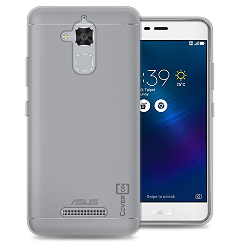 Zenfone 3 Max Case, Zenfone Pegasus 3 Case, CoverON [FlexGuard Series] Slim Soft Flexible TPU Rubber Phone Cover Case for Asus Zenfone 3 Max/Pegasus 3 - Clear