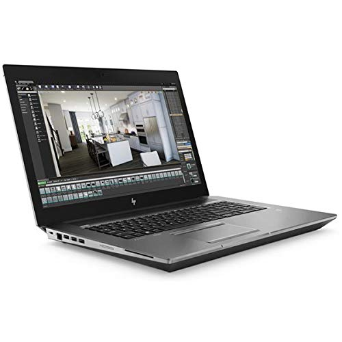 HP ZBook 17 G6 Mobile Workstation, Grey, Intel Core i7-9850H, 32GB RAM, 512GB SSD, 17.3' 1920x1080 FHD, 6GB NVIDIA Quadro RTX 3000 Max-Q, HP 3 YR WTY + EuroPC Warranty Assist, (Renewed)
