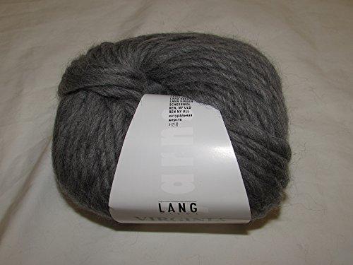 Lang Yarns Virginia freie Farbwahl Wolle reine Schurwolle (05 - Mittelgrau)