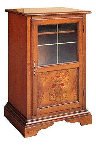 Artigiani Veneti Riuniti Mueble con marquetería telefonera de salón