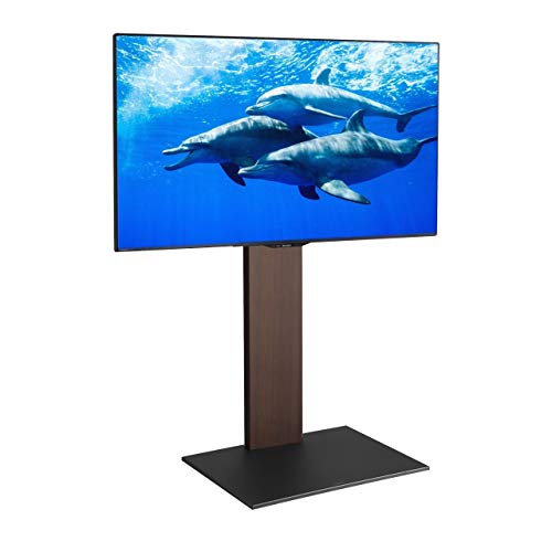 【グッドデザイン賞受賞】EQUALS イコールズ WALL[ウォール] 壁寄せテレビスタンド V2 ハイタイプ 32~60V対応 ウォールナット
