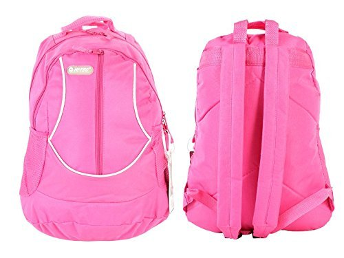 Best Retro Backpacks For College Students | Women and Mens Teenage Youth Boys, Girls Vintage Rucksack Backpack For School Bags, Gym, Travel and Diaper (HOT PINK)