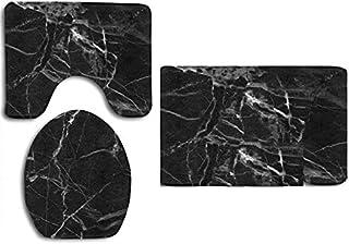 طقم دواسات 3 قطع - لون أسود