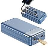 Power Bank 50000mAh Batería Externa - 22.5W USB Cargador...